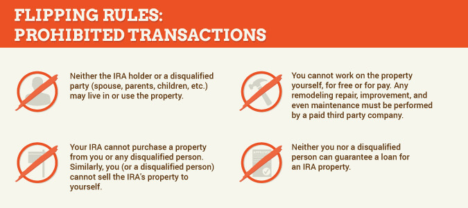 prohibited transactions for home flipping